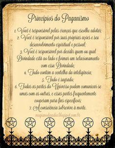 Magia no Dia a Dia: Princípios do Paganismo http://magianodiaadia.blogspot.com.br/2016/10/principios-do-paganismo.html