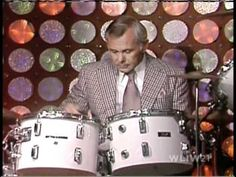 Johnny Carson on Drums
