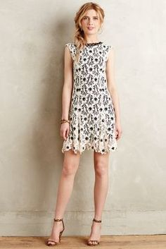 Anna Sui Novella Lace Dress #anthrofave