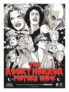 "Posterocalypse: Joshua Budich's ""The Rocky Horror Picture Show"" Movie Poster"