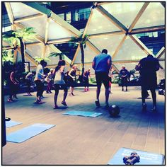 JOIN US AGAIN 2MORO Meet: 6.15pm @proteinhausuk  What is the workout: Boxing & Fitness Where: RoofGarden Crossrail Place Workout time: 6.20-7.20pm How much: 10.  Workout  #postworkout shake included.  To book: proteinhausph@gmail.com  #instagood #foodporn #macros #shakes #london #health #exercise #gains #goals #instafit #proteinshake #fitspo #fitspiration #weightloss #shred #chasegains #nutrition #strongnotskinny  #fitnotthin #balance #cardio #fatloss #wod #brunch #getlean #diet #boxfit #abs…