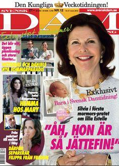 A new edition of Svensk Damtidning. #royal