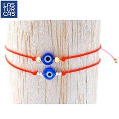 Tobillera para bebés #OjoTurco #LasTurcas #TiendaOnline Evil Eye Bracelet, Ring Bracelet, I Love Jewelry, Jewelry Making, Handmade Bracelets, Handmade Jewelry, Beaded Jewelry, Beaded Bracelets, Love Necklace