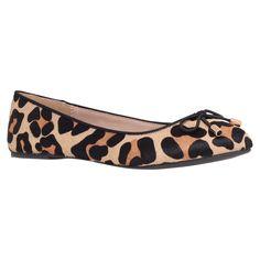 Miss KG Nel Ballerina Pumps, Leopard