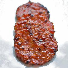 Bak Kua/Bak Kwa--Singapore Jerky: Coin of the Realm with Ground Pork