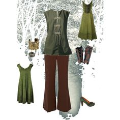 elven. I like the dresses. Not so much the pants outfit...