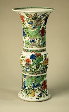 Vase, Qing dynasty, Kangxi period (1662–1722)