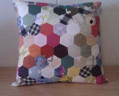Patchwork Pillow Patchwork Pillow, Throw Pillows, Sewing, Toss Pillows, Dressmaking, Cushions, Couture, Stitching, Decorative Pillows