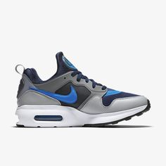 huge selection of f215f d6d51 Sale 2017 New NIKE AIR MAX PRIME mens shoe Midnight Navy Cool Grey Wolf  Grey Photo Blue 876068 400