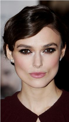 Makeup inspiration for brown eyes: Keira Knightley