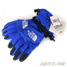 The North Face Waterproof Gloves Bleu Sortie TNF5817