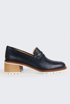 GOOD AS GOLD | Online Clothing Store | Mens & Womens Fashion | Streetwear | NZ — X Karen Walker Boy Stack - navy | Beau Coops x Karen Walker