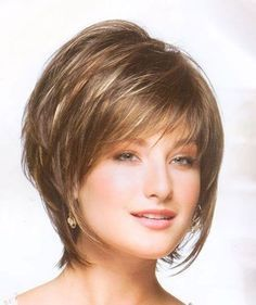 Short Layered Hairstyles For Fine Hair Layered Bob Haircuts For Fine Hair Short Haircuts For Fine Hair Short Layered Hairstyles For Fine Wavy Hair Bob Haircut For Fine Hair, Wedge Hairstyles, Bob Hairstyles For Fine Hair, Hairstyles 2016, Haircut Short, Short Bangs, Ladies Hairstyles, Haircut Bob, Easy Hairstyles