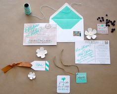 Destination Wedding..next stop? HAWAII! Love the postcard Save The Date | Nico and Lala Weddings, via Glamour