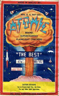 Atomic 80/12 Firecracker Brick Label | by Mr Brick Label