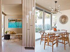 Abernathy6 Rearrange Room, Dining Room Inspiration, Design Inspiration, Design Ideas, Dining Nook, Dining Set, Interior Decorating, Interior Design, Mid Century Modern Decor