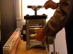 rolling mill embossing - includes how to do it with paper - something I want to try soon