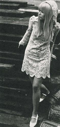 Fashion spread in Rave magazine, 1967.