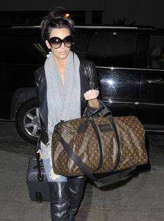 060030553f51 Louis Vuitton Keepall Bag and Damier Graphite Pegase Suitcase Louis Vuitton  Handbags