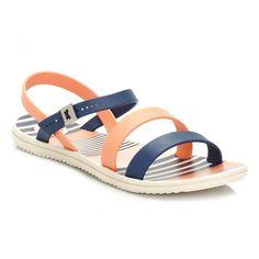 3cd243da18 Zaxy Womens Navy   Coral Urban Sandals 8175590201. SapatosSandálias Azul  MarinhoSapatos ...