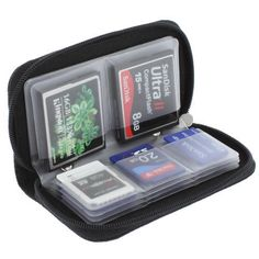 Memory Card Storage Carrying Case Holder Wallet for CF SD SDHC MS DS 3DS Games | eBay - $5.99
