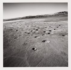 Subsidence Craters on Yucca Flat : Emmet Gowin