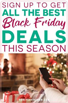 Save On Holiday Shopping With all These HOT Black Friday Deals!! Never miss a HOT deal during the holiday shopping season with deals coming directly to your inbox! #blackfriday #blackfridaydeals… More Best Black Friday, Black Friday Deals, Christmas On A Budget, Simple Christmas, Christmas Ideas, Money Saving Mom, Envelope System, Holiday Deals, Frugal Living Tips
