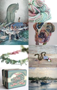 Dusk raindbow (Treasury Game at Sixteen To Treasure - Monday) by Julia Jasiczak on Etsy--Pinned with TreasuryPin.com