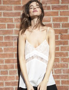 This Cami from Cami NYC is made with 100% silk and is the perfect addition to your wardrobe for this Spring. Oursilk is soft, luxurious and incredibly comfortable...