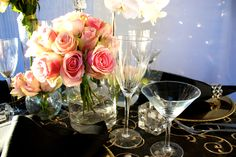 Decor It has been designing many of Melbourne's glamorous and visually stunning weddings, parties and events. Wedding Lunch, Crystal Candelabra, Wedding Decorations, Table Decorations, Table Linens, Event Decor, Pink Roses, Melbourne, Wedding Flowers