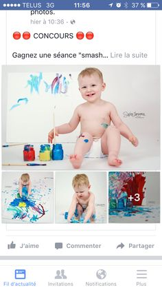 Idee smash the paint Birthday Painting, Invitation, Birthday Pictures, Amazing Photography, Photos, Picture Ideas, Fun, Kids, Color