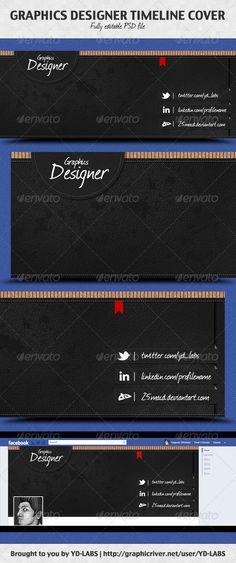 Graphics Designer Timeline Cover  $2.00