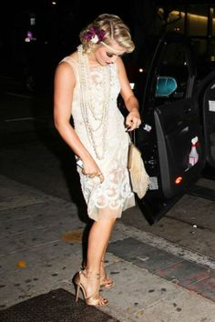 julianne hough at great gatsby themed party