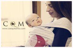 #porteo #portabebés #babywearing #fular #cerquitamio www.cerquitamio.com