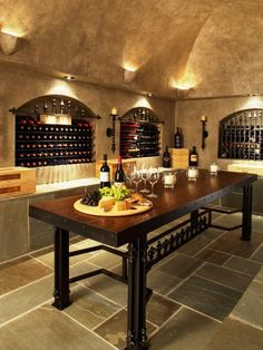 Eclectic Wine Cellar Design, Pictures, Remodel, Decor and Ideas - page 3