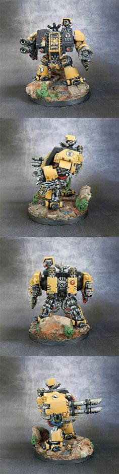 Warhammer 40k - Imperial fists dreadnought
