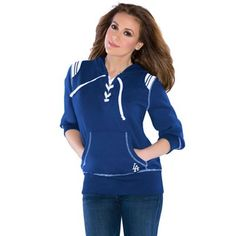 Touch By Alyssa Milano L A Dodgers Ladies Fly Ball V Neck