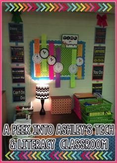Peek of the Week: A Peek into Ashley's Technology and Literacy Classroom