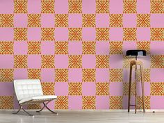 Design #Tapete Contradict Artsy, Quilts, Blanket, Design, Home, Self Adhesive Wallpaper, Wall Papers, Quilt Sets, Quilt