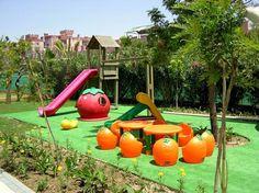 Aire de jeux en plein air pour vos petits en 45 idées