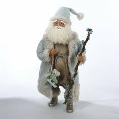 Winter Nature Santa Claus