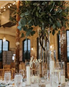 Awesome Just greenery – – Wedding Centerpieces Grey Wedding Theme, Wedding Table, Floral Wedding, Wedding Colors, Wedding Flowers, Dream Wedding, Wedding Greenery, Wedding Day, Topiary Wedding