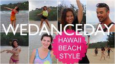 WeDanceDay Hawaii BEach Style: Team LAHF & William (7 May 2015)