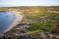 Spanish Bay, Pebble Beach, California