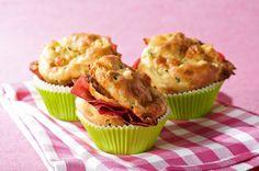 Muffins mit Mozzarella - Annemarie Wildeisen's KOCHEN