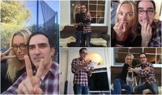 """Victoria Smurfit & Patrick Fischler live tweeting while watching """"Sympathy For The De Vil"""" #AuthElla"""
