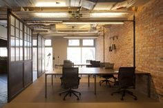 El estudio de diseño interior 44a Colina han completado recientemente el diseño de las oficinas para su base en el lujoso Londres, Reino Unido.