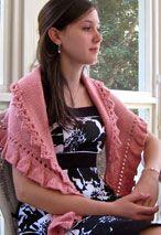 Georgiana Shawlette Pattern