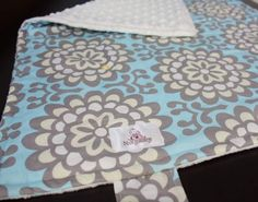 Deluxe Diaper Changing Mat  Lotus by notybaby