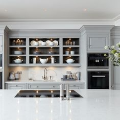 Gray kitchen